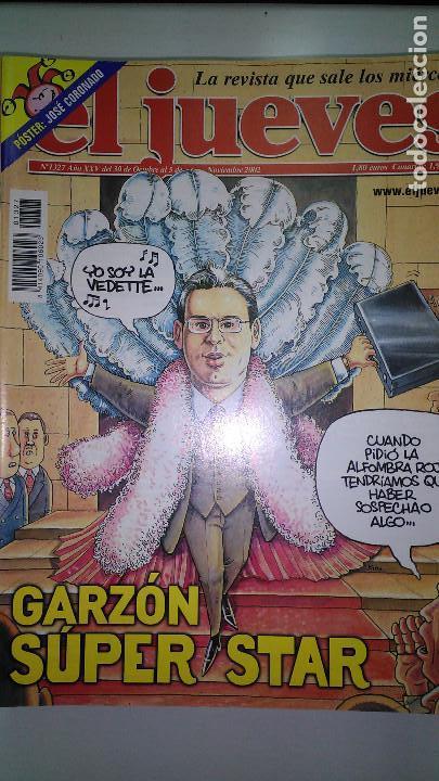 Coleccionismo de Revista El Jueves: REVISTA EL JUEVES. Lote de 99 Nº (Agosto 1991/ Marzo 2013) - Foto 20 - 116444099