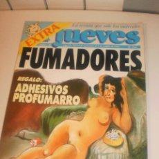 Coleccionismo de Revista El Jueves: EL JUEVES 748. DEL 25-9 AL 1 COTUBRE 1991 EXTRA FUMADORES. CON PEGATINAS (EN ESTADO NORMAL). Lote 116544795
