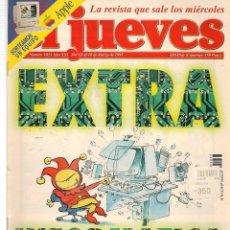 Coleccionismo de Revista El Jueves: EL JUEVES. Nº 1033. EXTRA INFORMATICA. 18 MARZO 1997. (ST/REVISTAS). Lote 116999655