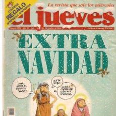 Coleccionismo de Revista El Jueves: EL JUEVES. Nº 1020. EXTRA DE NAVIDAD. ¡CON AGENDA 1997!. 17 DICIEMBRE 1996. (ST/REVISTAS)*. Lote 117000355