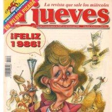 Coleccionismo de Revista El Jueves: EL JUEVES. Nº 1075. 6 ENERO 1998. (ST/REVISTAS). Lote 117005267