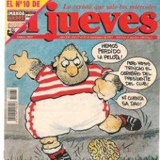 Coleccionismo de Revista El Jueves: EL JUEVES. Nº 1060. ¡CON SUPLEMENTO MANDA GÜEBOS!. 23 SEPTIEMBRE 1997. (ST/REVISTAS)*. Lote 117006443
