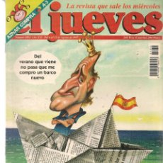 Coleccionismo de Revista El Jueves: EL JUEVES. Nº 1054. ¡CON SUPLEMENTO MANDA GÜEBOS!. 12 AGOSTO 1997. (ST/REVISTAS)*. Lote 117006875