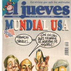 Coleccionismo de Revista El Jueves: EL JUEVES. Nº 890. 21 JUNIO 1994. (ST/REVISTAS). Lote 117015651