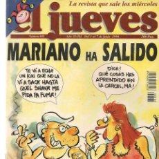 Coleccionismo de Revista El Jueves: EL JUEVES. Nº 888. 7 JUNIO 1994. (ST/REVISTAS). Lote 117015739