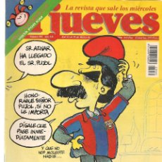 Coleccionismo de Revista El Jueves: EL JUEVES. Nº 981. 19 MARZO 1996. (ST/REVISTAS). Lote 117030479