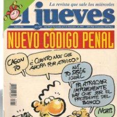 Coleccionismo de Revista El Jueves: EL JUEVES. Nº 966. 5 DICIEMBRE 1995. (ST/REVISTAS). Lote 117030907