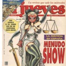 Coleccionismo de Revista El Jueves: EL JUEVES. Nº 961. 31 OCTUBRE 1995. (ST/REVISTAS). Lote 117031439