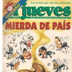 Coleccionismo de Revista El Jueves: EL JUEVES. Nº 923. 7 FEBRERO 1995. (ST/REVISTAS). Lote 117032515