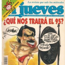 Coleccionismo de Revista El Jueves: EL JUEVES. Nº 918. 3 ENERO 1995. (ST/REVISTAS). Lote 117032775