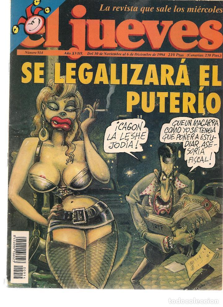 EL JUEVES. Nº 914. 6 DICIEMBRE 1994. (ST/REVISTAS) (Coleccionismo - Revistas y Periódicos Modernos (a partir de 1.940) - Revista El Jueves)
