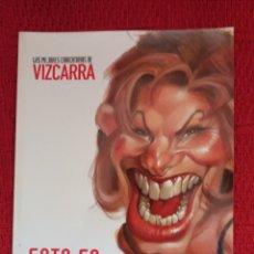 Coleccionismo de Revista El Jueves: LAS MEJORES CARICATURAS DE VIZCARRA-ESTO ES HOLLYWOOD-. Lote 117129110