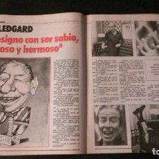 Coleccionismo de Revista El Jueves: REVISTA EL JUEVES-KIKO LEDGARD-UN DOS TRES. Lote 117925631