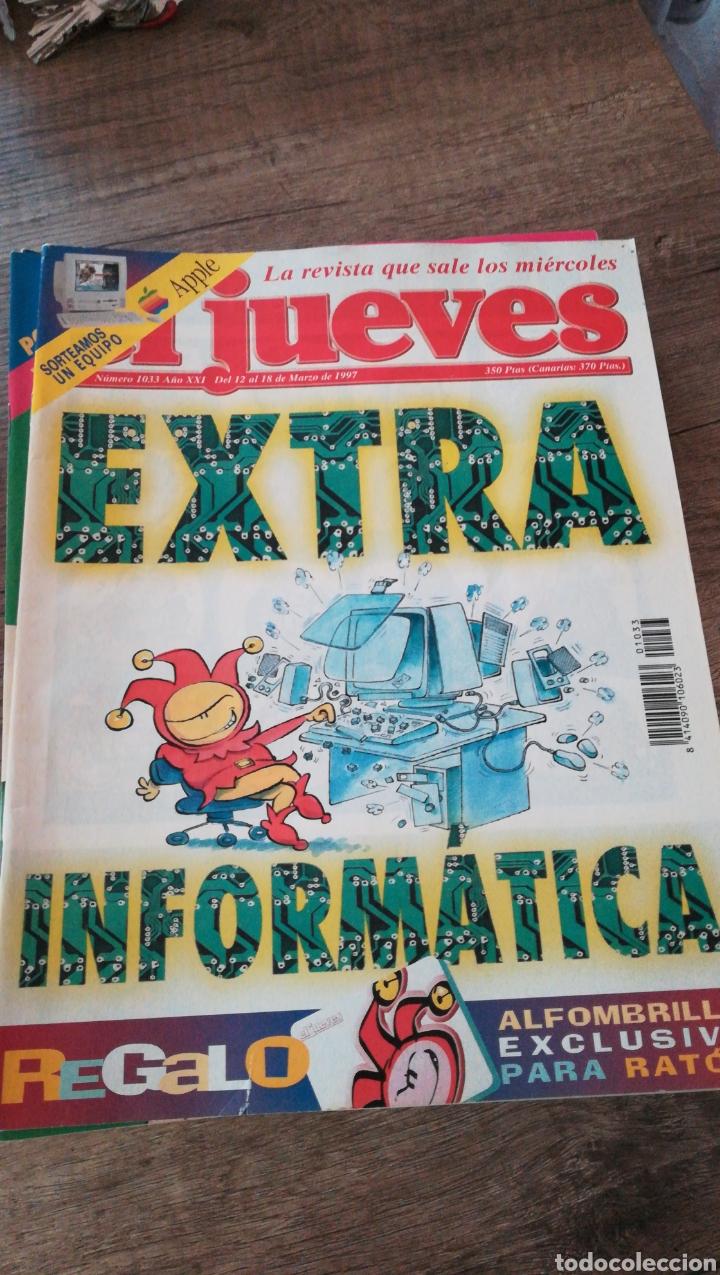 REVISTA EL JUEVES 1033 * 9 (Coleccionismo - Revistas y Periódicos Modernos (a partir de 1.940) - Revista El Jueves)