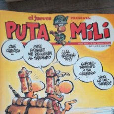 Coleccionismo de Revista El Jueves: REVISTA PUTA MILI 203 * EL JUEVES * 26. Lote 118004331
