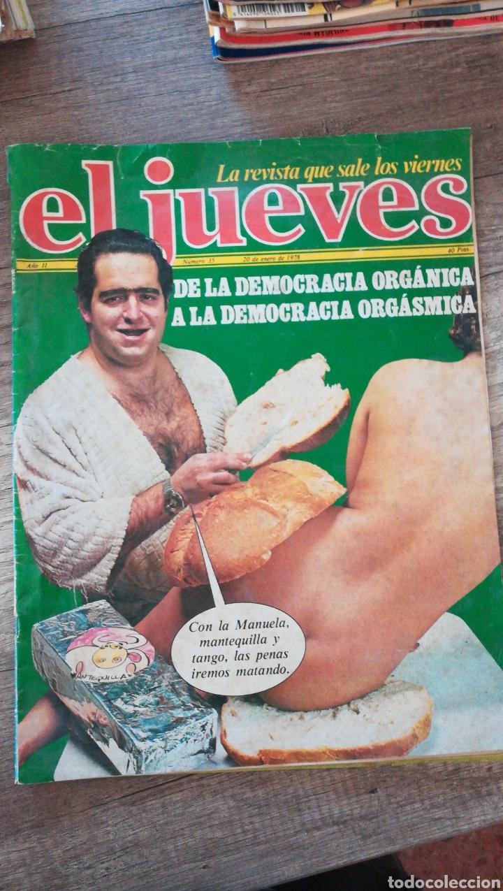REVISTA EL JUEVES 35 * ENERO 1978 * 4 (Coleccionismo - Revistas y Periódicos Modernos (a partir de 1.940) - Revista El Jueves)