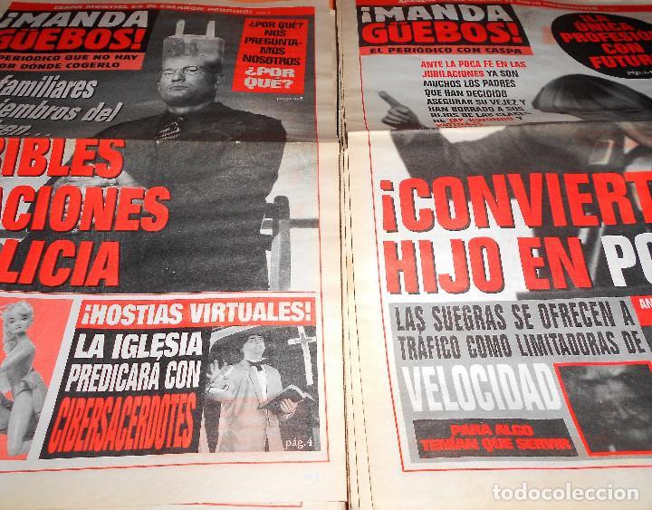 Coleccionismo de Revista El Jueves: ¡MANDA GüEBOS! SUPLEMENTO DE EL JUEVES. 46 NUMEROS. ESTADO NORMAL. AÑOS 90. - Foto 3 - 119033399
