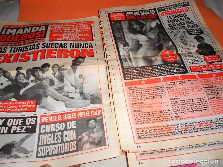 Coleccionismo de Revista El Jueves: ¡MANDA GüEBOS! SUPLEMENTO DE EL JUEVES. 46 NUMEROS. ESTADO NORMAL. AÑOS 90. - Foto 6 - 119033399
