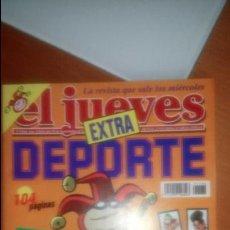 Coleccionismo de Revista El Jueves: EL JUEVES EXTRA DEPORTE Nº 1166. Lote 120460791