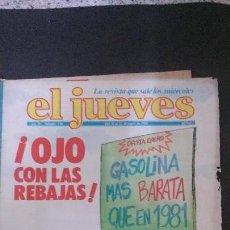 Coleccionismo de Revista El Jueves: REVISTA EL JUEVES Nº 138-1980. Lote 122070843