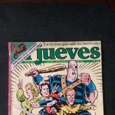 Coleccionismo de Revista El Jueves: REVISTA EL JUEVES Nº 392-1984-CAPITÁN TRUENO. Lote 122117591
