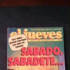 Coleccionismo de Revista El Jueves: REVISTA EL JUEVES Nº 558-1988. Lote 122123139