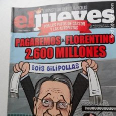 Coleccionismo de Revista El Jueves: REVISTA EL JUEVES Nº 2068 ENERO 2017.. Lote 122369087