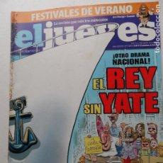Coleccionismo de Revista El Jueves: REVISTA EL JUEVES Nº 1889 AGOSTO 2013.. Lote 122370463