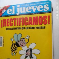 Coleccionismo de Revista El Jueves: REVISTA EL JUEVES Nº 1574 JULIO 2007.. Lote 122373991
