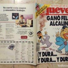 Coleccionismo de Revista El Jueves: REVISTA EL JUEVES Nº 837 - GANÓ FELIPE ALCALINO - DEL 9 AL 15 DE JUNIO DE 1993. Lote 127948611