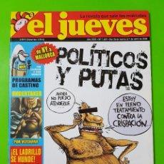 Coleccionismo de Revista El Jueves: EL JUEVES Nº 1609 DEL 26 DE MARZO AL 1 DE ABRIL DEL 2008. Lote 128062127