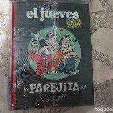 Coleccionismo de Revista El Jueves: EL JUEVES LUXURY GOLD COLLECTION,LA PAREJITA S,A,LOS INICIOS, MANEL FONTDEVILA. Lote 128512379