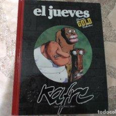 Coleccionismo de Revista El Jueves: EL JUEVES LUXURY GOLD COLLECTION,KAFRE, DAS PASTORAS/ ABULI. Lote 128513391