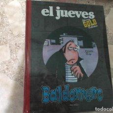 Coleccionismo de Revista El Jueves: EL JUEVES LUXURY GOLD COLLECTION,BALDOMERO, PALLARES. Lote 128513495
