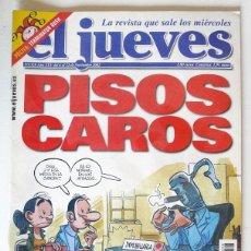 Coleccionismo de Revista El Jueves: EL JUEVES - Nº 1328 - NOVIEMBRE 2002 - PISOS CAROS - POSTER TERMINATOR BUSH. Lote 128527259