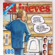 Coleccionismo de Revista El Jueves: EL JUEVES - Nº 1435 - NOVIEMBRE 2004 - LOS REYES VISITAN A BUSH - POSTER ALBERT PLÁ. Lote 128623371