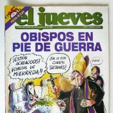 Coleccionismo de Revista El Jueves: EL JUEVES - Nº 1436 - DICIEMBRE 2004 - OBISPOS EN PIE DE GUERRA - POSTER M CLAN. Lote 128623547