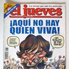 Coleccionismo de Revista El Jueves: EL JUEVES - Nº 1437 - DICIEMBRE 2004 - ¡AQUI NO HAY QUIEN VIVA - POSTER ELTON JOHN. Lote 128628467