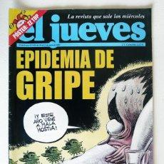 Coleccionismo de Revista El Jueves: EL JUEVES - Nº 1443 - ENERO 2005 - EPIDEMIA DE GRIPE - POSTER Z Z TOP. Lote 128628923