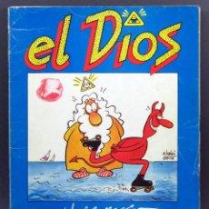 Coleccionismo de Revista El Jueves: EL JUEVES SUPLEMENTO MENSUAL REVISTA EL DIOS EDICIONES ZETA 1981. Lote 129239999