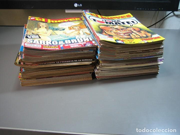 Coleccionismo de Revista El Jueves: EL JUEVES .REVISTA SATÍRICA.LOTE DE 99 NÚMEROS ( DEL Nº 1599 AL Nº 1694 ) - Foto 2 - 130301586