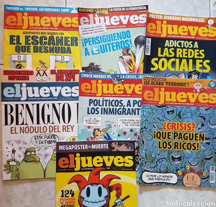 Coleccionismo de Revista El Jueves: Lote 7 revistas El Jueves - Foto 2 - 130632278