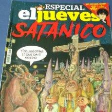 Coleccionismo de Revista El Jueves: ESPECIAL JUEVES SATÁNICO . N° 2131 92 PP.. Lote 131236338