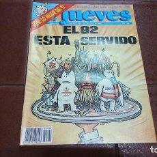 Coleccionismo de Revista El Jueves: REVISTA EL JUEVES 1992 NÚMERO 762. Lote 131512346