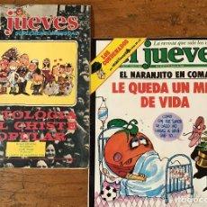 Coleccionismo de Revista El Jueves: EL JUEVES Nº 264 Y ANTOLOGÍA DEL CHISTE POPULAR. Lote 132272598