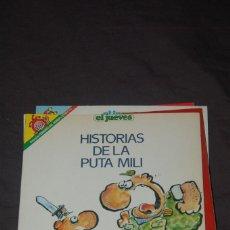 Coleccionismo de Revista El Jueves: COL. PENDONES DEL HUMOR Nº 57- HISTORIAS DE LA PUTA MILI. IVÀ. Lote 132392418