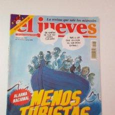 Coleccionismo de Revista El Jueves: EL JUEVES N° 1316 14-8-2002. Lote 133797330