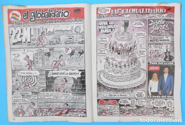 Coleccionismo de Revista El Jueves: Revista El Jueves - El EXTRA REAL. La Boda. Núm. 1408, de Mayo de 2004. Muy rara y buscada. - Foto 4 - 133832426