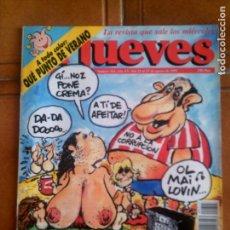 Coleccionismo de Revista El Jueves: REVISTA EL JUEVES N,743 DE 1991. Lote 134023654
