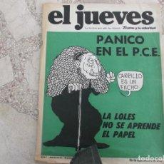Collectionnisme de Magazine El Jueves: EL JUEVES Nº 2 PRIMERA EPOCA ,ORIGINAL. Lote 134483298